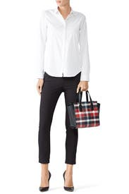 Plaid Small Hayden Satchel by kate spade new york accessories