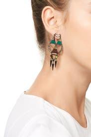 Hemingway Earrings by Lizzie Fortunato
