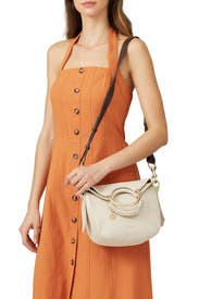 Cement Beige Monroe Crossbody by See by Chloe Accessories
