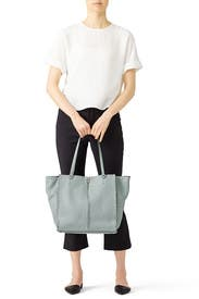 Dusty Green Darren Tote by Rebecca Minkoff Accessories