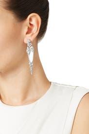 Silver Dagger Earrings by Alexis Bittar