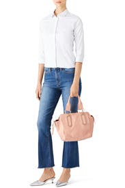Peach Paige Satchel by See by Chloe Accessories