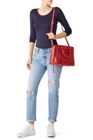 Scarlet Bree Satchel by Rebecca Minkoff Accessories