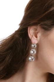 Ocean Moon Earrings by Badgley Mischka Jewelry