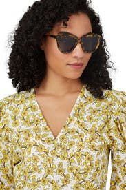 Crazy Tort Number One Sunglasses by Karen Walker