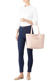 Warm Vellum Nandy Bow Tote by kate spade new york accessories