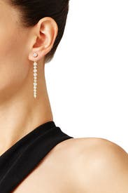 Clear as Crystal Linear Ear Jacket by kate spade new york accessories