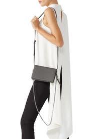 Grey Fetch Chain Wallet Bag by AllSaints