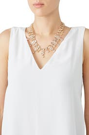 Crystal Gold Necklace by kate spade new york accessories
