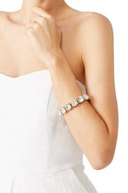 Crystal Dot Tennis Bracelet by Slate & Willow Accessories