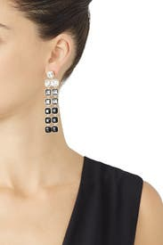 Ombre Crystal Earrings by Slate & Willow Accessories