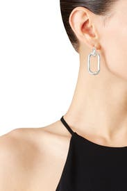 Silver Beaumont Earrings by Pamela Love