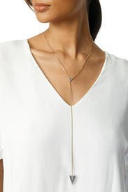 Caged Cone Necklace by Sarah Magid