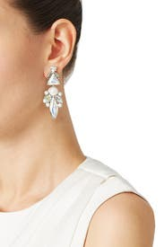 Iridescent Icicle Earrings by Ella Carter