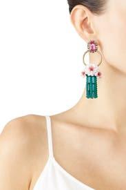 Bastian Floral Earrings by Elizabeth Cole