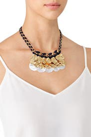 Gold Mina Necklace by Nocturne