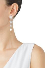 Star Drop Earrings by Ben-Amun