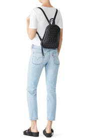 Studded Clarence Backpack by Cleobella Handbags