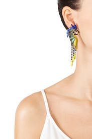 Daya Bird Earrings by Elizabeth Cole