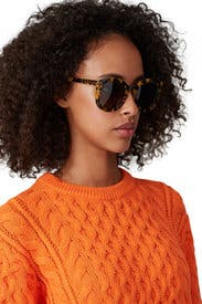 Crazy Tort Super Duper Strength Sunglasses by Karen Walker