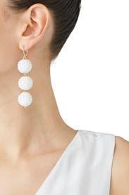 Unicorn Drop Earrings by Mad Jewels