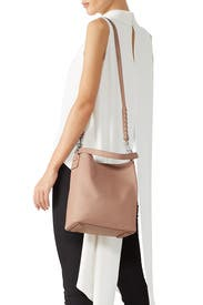 Nude Kathi NS Studded Tote by AllSaints