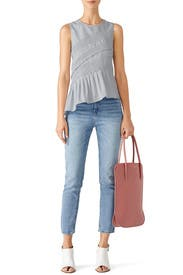 Rose Irrisor Small Tote by Nina Ricci Accessories