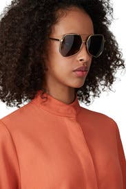 Gold Olive Megalast Sunglasses by Grey Ant