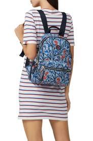 Tilda Printed Zip Backpack by Tory Burch Accessories