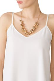 Multi Bauble Statement Necklace by Slate & Willow Accessories