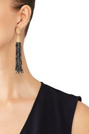 Two Tone Tassel Earrings by Slate & Willow Accessories