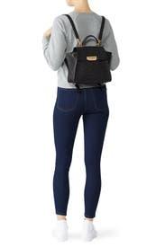 Glitter Eartha Convertable Backpack by ZAC Zac Posen Handbags