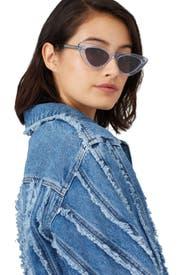 Litchi Cat Eye Sunglasses by CHiMi Eyewear