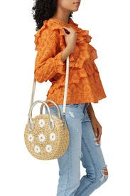 Daisy Embroidery Maxine Bag by Poolside