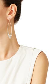 Jagged Marquis Earrings by Alexis Bittar
