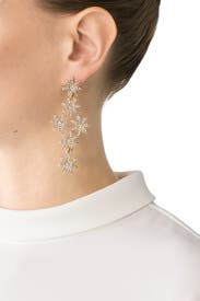 Daisy Crystal Earrings by Slate & Willow Accessories