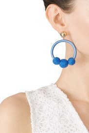 The Bead Goes On Hoop Earrings by kate spade new york accessories