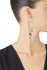 Dangling Wire Earrings by Alexis Bittar