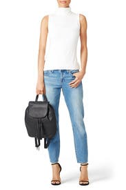Black Moto Backpack by Rebecca Minkoff Accessories