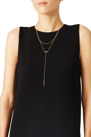 Asher Lariat Necklace by Gorjana Accessories
