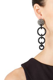 Wind Chime Earrings by Lele Sadoughi