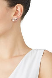 Rose Gold Ear Climbers by Kendra Scott