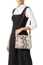 Fleur Embossed Small Top Handle Satchel by kate spade new york accessories