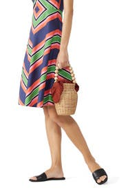 Wicker Tote by Loeffler Randall