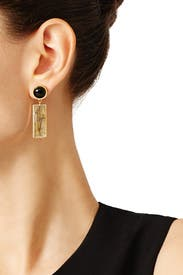 Morocco Column Earrings by Lizzie Fortunato