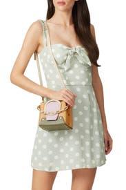 Yellow Delila Bucket Bag by Yuzefi