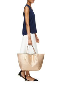 Champagne Shopper by Annabel Ingall