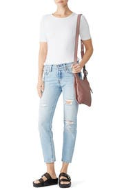 Mink Karlie Feed Bag by Rebecca Minkoff Accessories