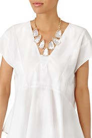 Mother of Pearl Harlow Necklace by Kendra Scott