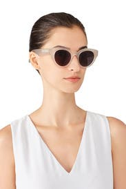 White Smoke Payton Sunglasses by Elizabeth and James Accessories